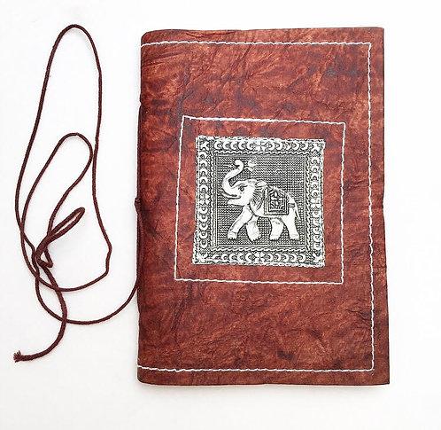 Elephant Metal Work Journal