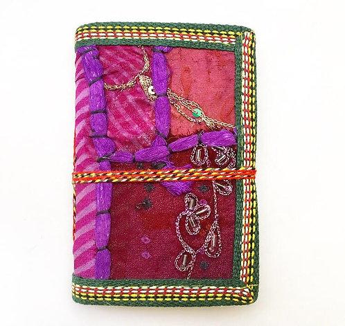 Mini Purple Sari Journal