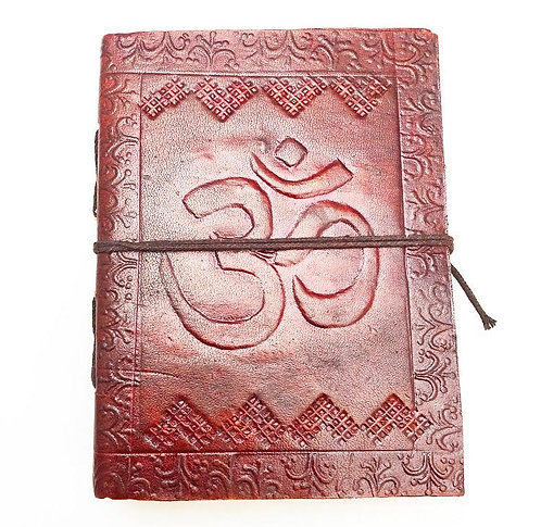 Small Ohm Leather Journal