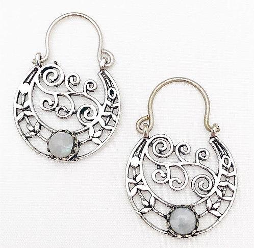 Moonstone Chamelee Earrings