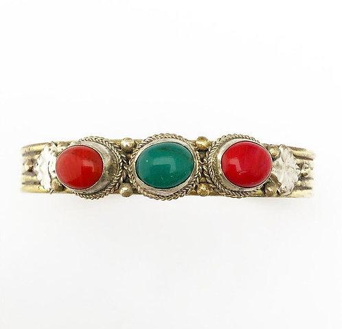 Sitambar Brass Bracelet
