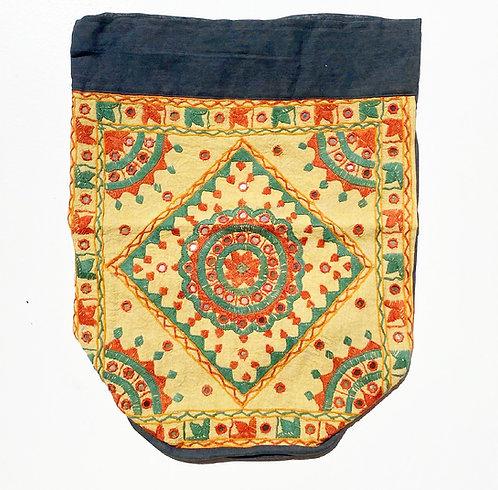 Daffodil Embroidered Backpack