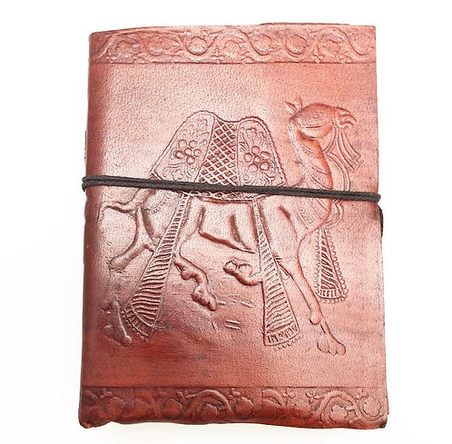 Small Camel Leather Journal
