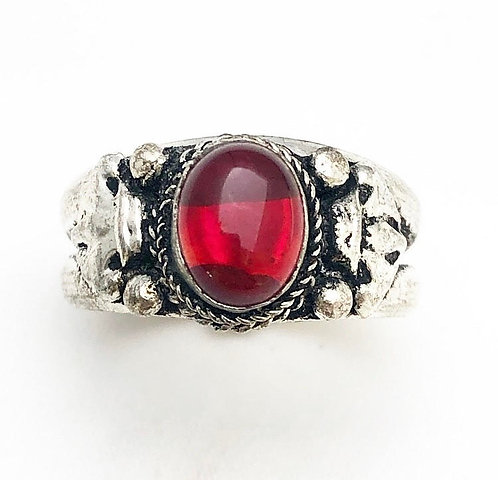 Red Nepalese Ring