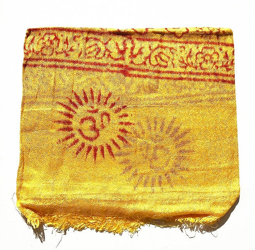 Small Sunflower Mantra Scarf