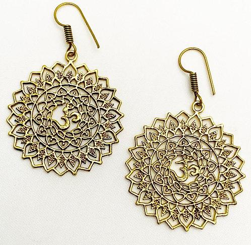 Bambolim Brass Earrings