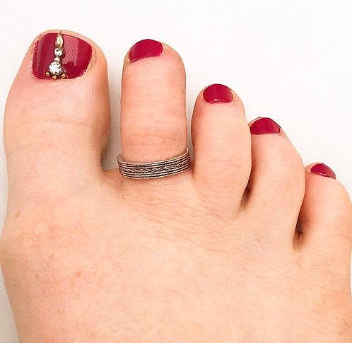 Stripe Toe Ring