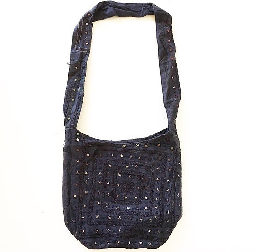 Black Mirror Slouch Bag