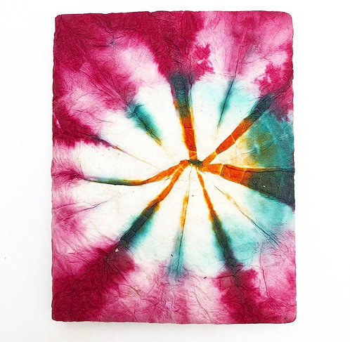 Magenta Tie Dye Pocket Notebook