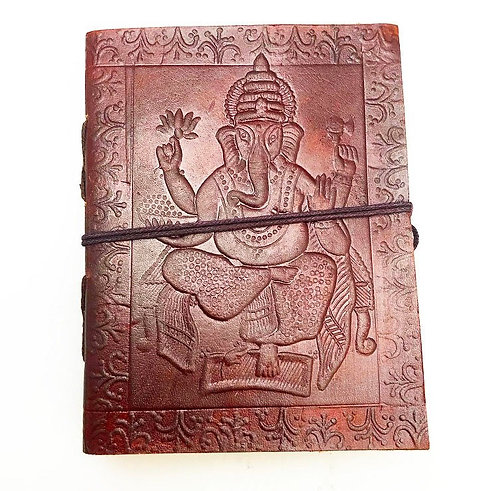 Small Ganesh Leather Journal