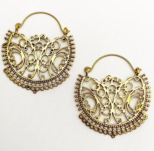 Paliyem Brass Earrings