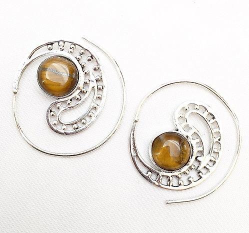 Dhatoora Stone Earrings