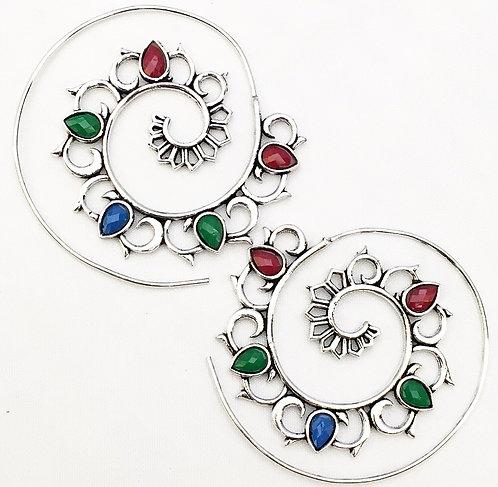 Banaphool Stone Earrings