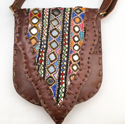 Narmada Leather Bag