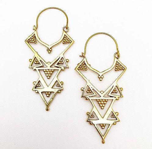 Calangute Brass Earrings