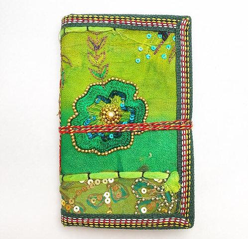 Small Green Sari Journal