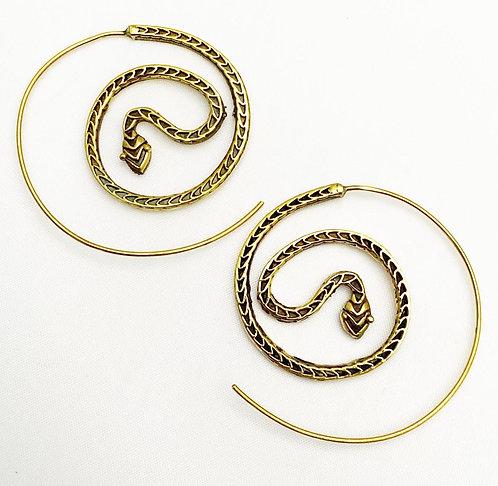 Salcete Brass Earrings