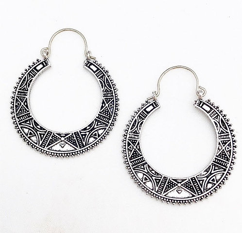 Aguada Silver Earrings