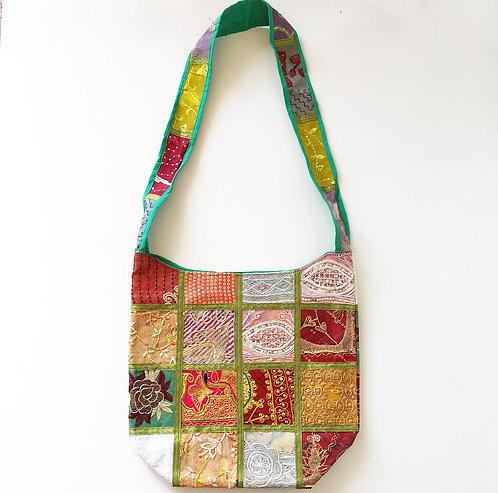 Kolkata Sari Slouch Bag