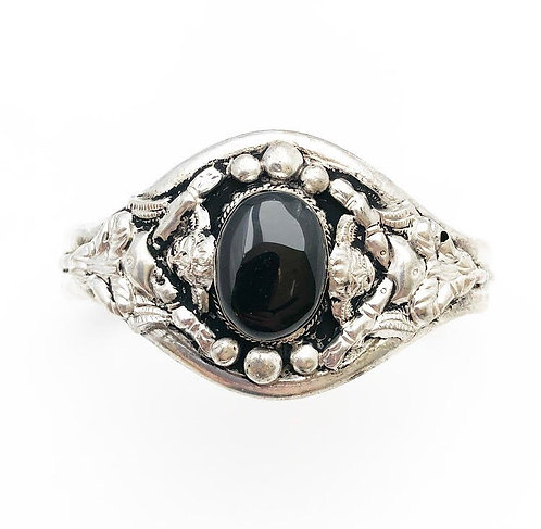 Black Obsidian Sajaana Bracelet