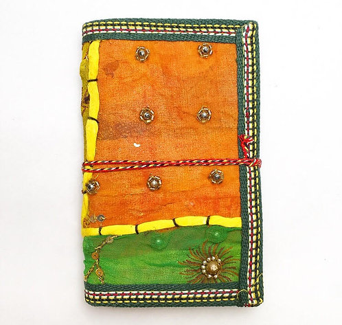 Small Amber Sari Journal