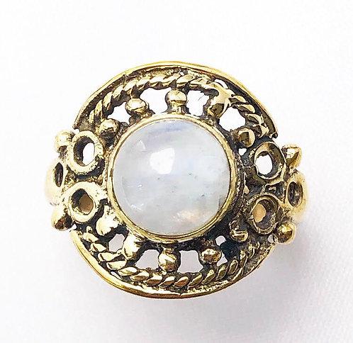 Moonstone Pahiya Ring