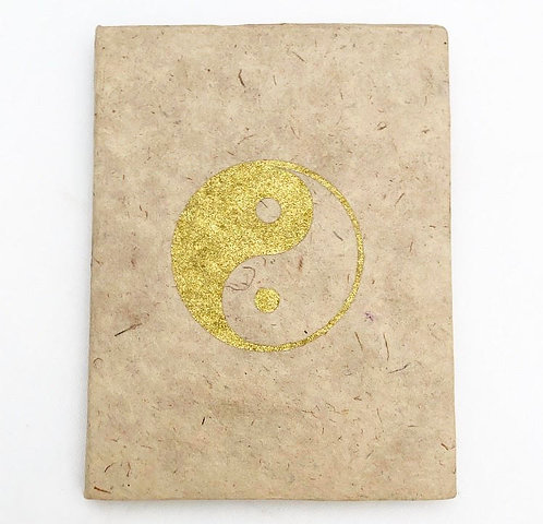 Natural Yin Yang Auspicious Symbol Notebook