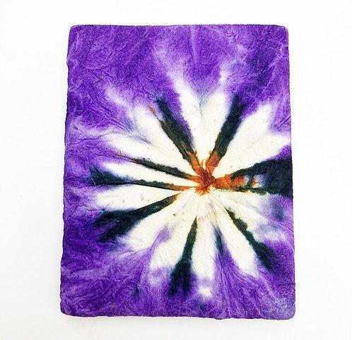 Purple Tie Dye Pocket Notebook
