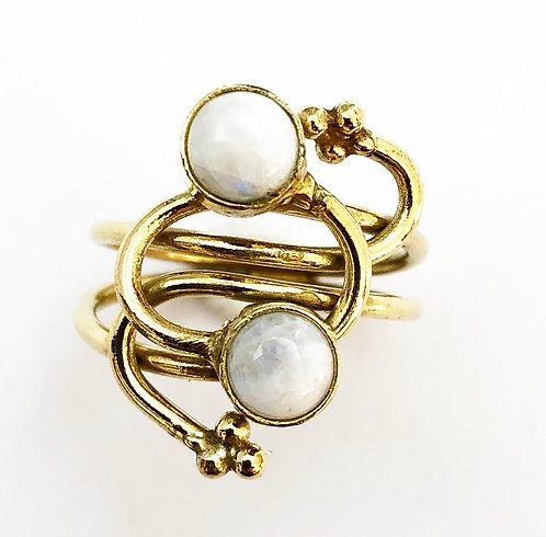 Moonstone Linka Ring