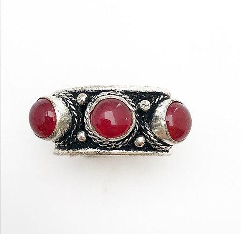 Red Jasper Tikadee Ring
