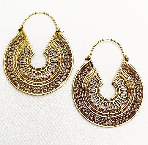 Bogmalo Brass Earrings