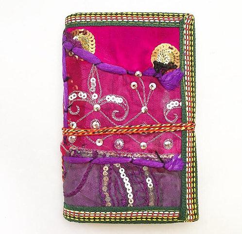 Small Purple Sari Journal