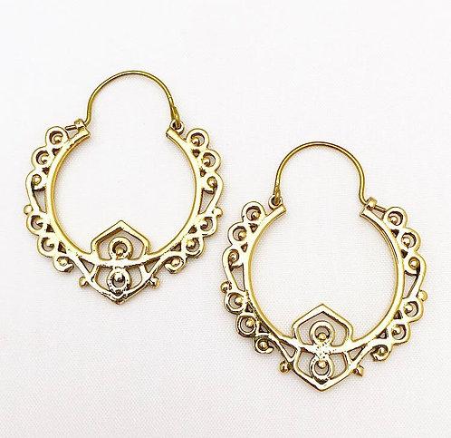 Candolim Brass Earrings
