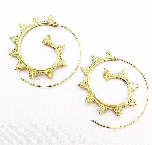 Margao Brass Earrings