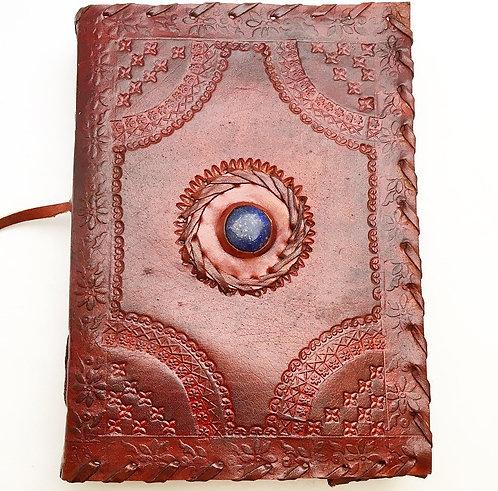 Lapis Lazuli Wrap Leather Journal