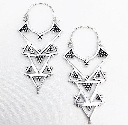 Calangute Silver Earrings