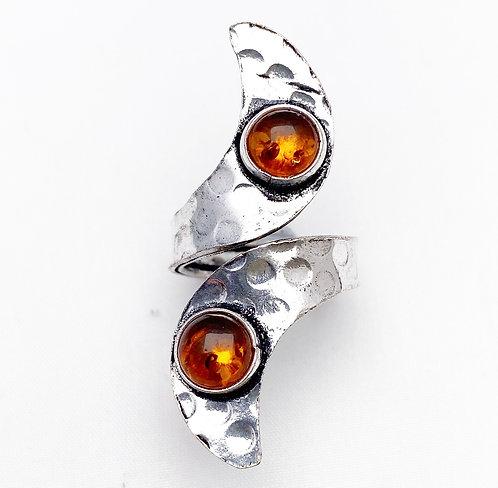 Amber Ankit Ring