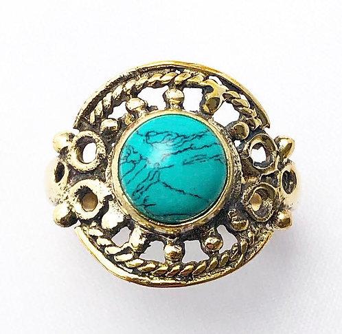 Turquoise Pahiya Ring