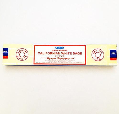 Satya Incense- Californian White Sage