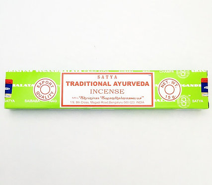Satya Incense- Traditional Ayurveda