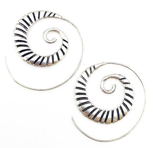 Siolim Silver Earrings
