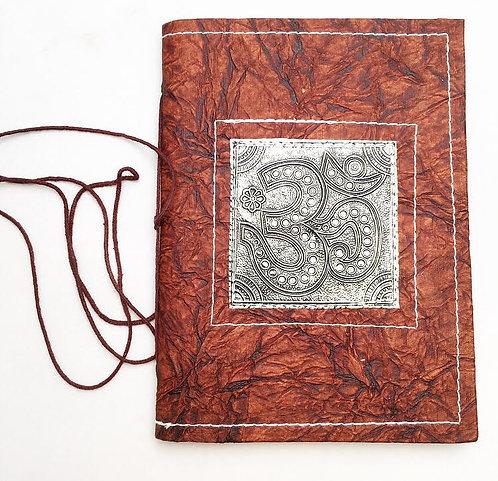 Large Ohm Metal Work Journal