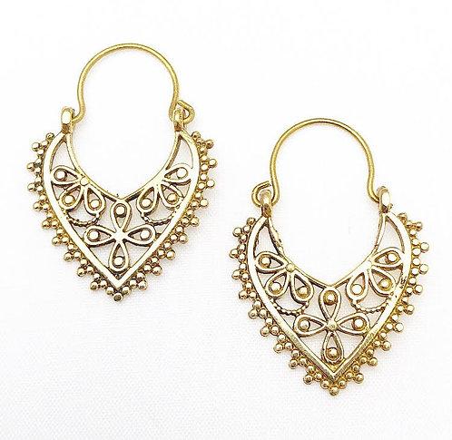 Morjim Brass Earrings