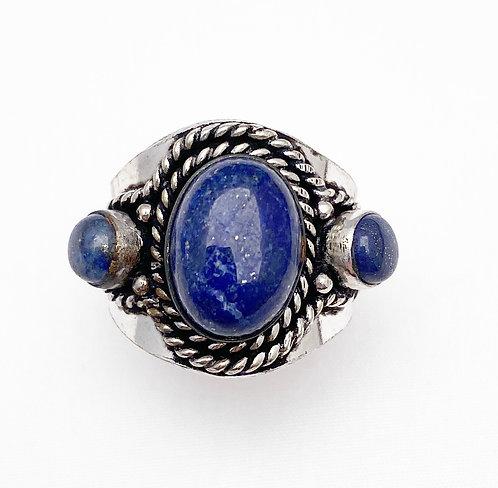 Lapis Lazuli Chattaan Ring