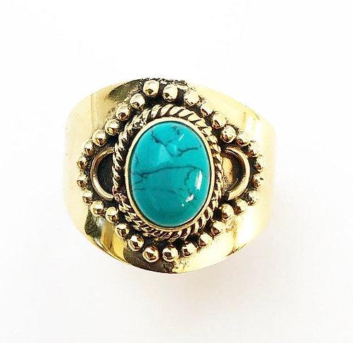 Turquoise Sajjita Ring