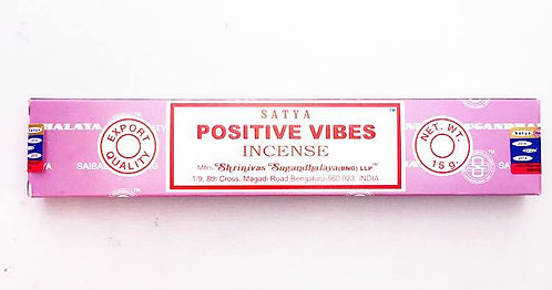 Satya Incense- Positive Vibes