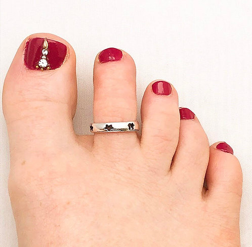 Star Toe Ring
