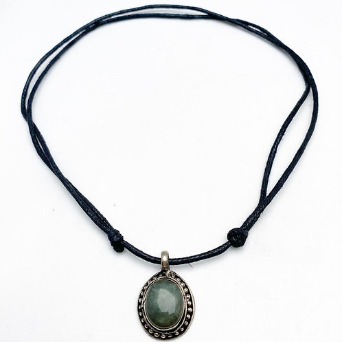Seraphinite Pendant Necklace