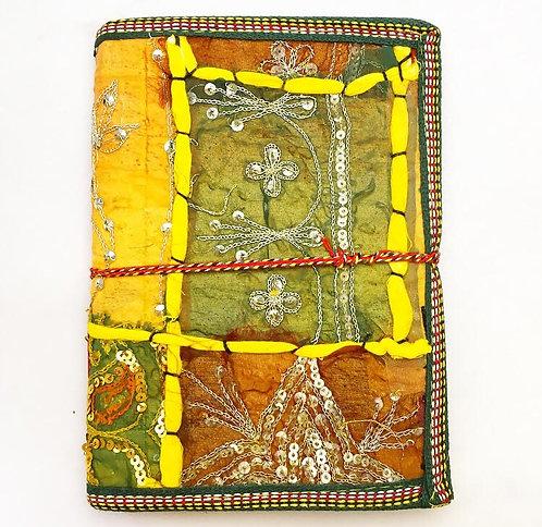 Large Amber Sari Journal