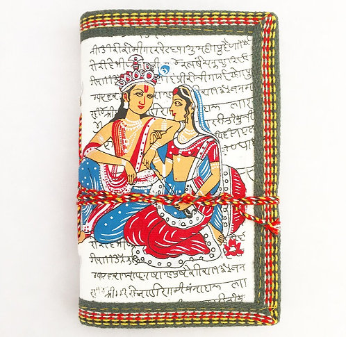 White Krishna & Radha Journal